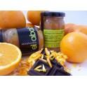 12 Tarros de Mermelada de Naranja Amarga con Chocolate (Sin Azúcar)